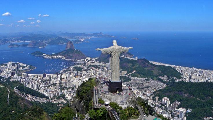 Współczesne cuda świata - tym razem zapraszam do Brazylii, do Rio de Janeiro!  #podróże #brazylia #riodejaneiro