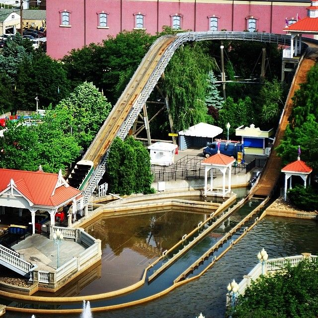 Nothing says fun at #Kennywood like getting soaked on the Pittsburgh Plunge! What ride do you have most fun on?