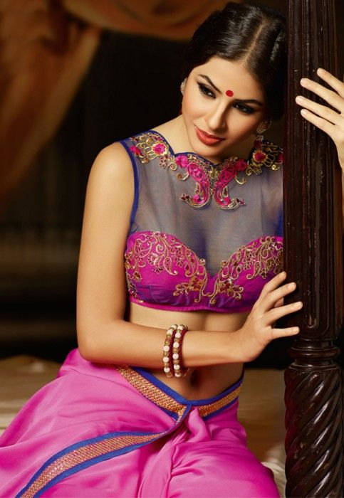 a36b0595e10852 modern saree blouse design | Blouse & Necklines in 2019 | Blouse ...