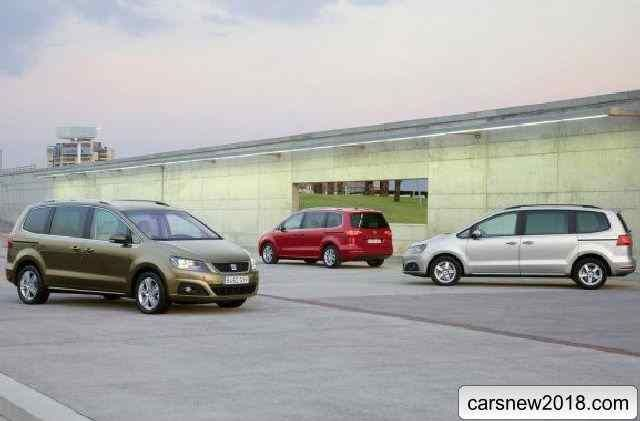 Test drive a minivan 2018-2019 Seat Alhambra