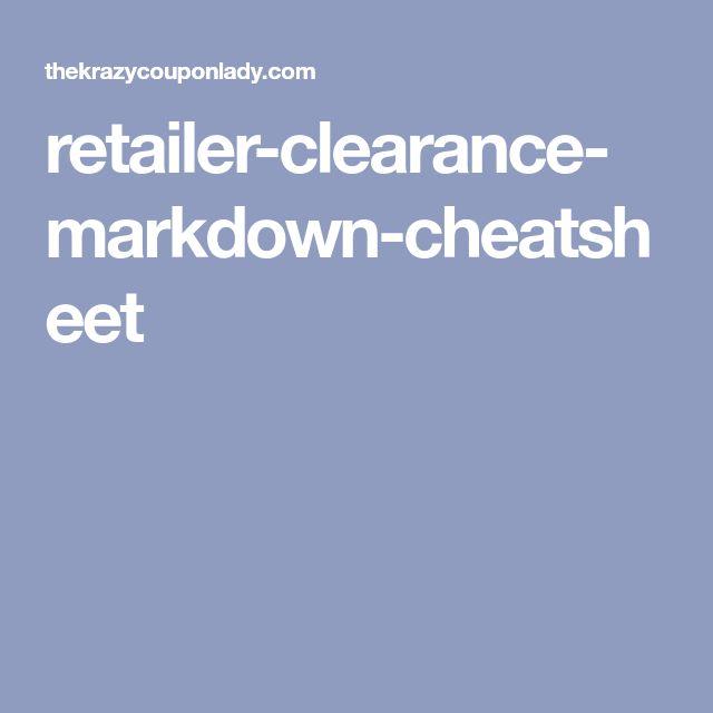 retailer-clearance-markdown-cheatsheet