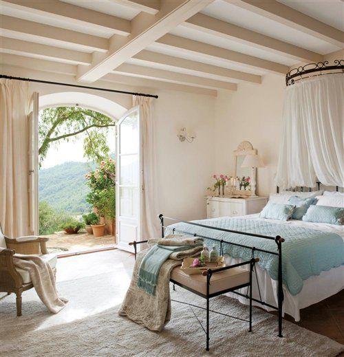 64 best slaapkamer ideeën images on Pinterest | Bedrooms, Romantic ...