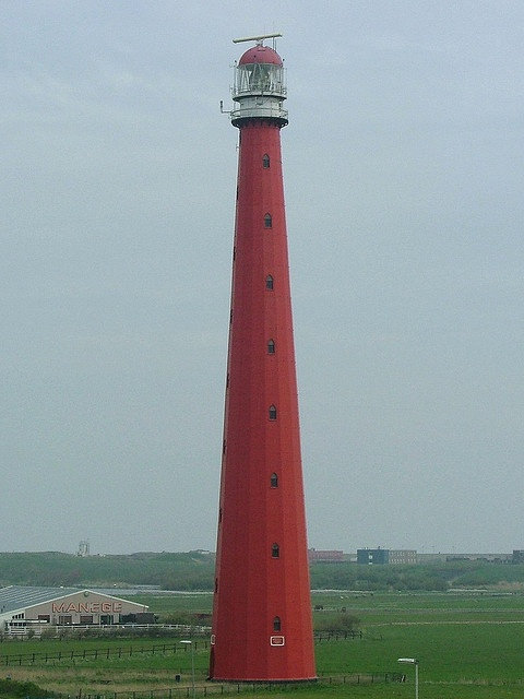 Kijkduin lighthouse,is a seaside resort on the North Sea coast of the province of South Holland in the Netherlands
