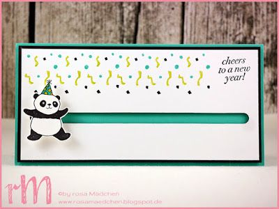 Stampin' Up! rosa Mädchen Kulmbach: Stamp Impressions Blog Hop: Cheers to the new year: Kullerkarte mit Party Pandas, Cheers to the Year und We must celebrate