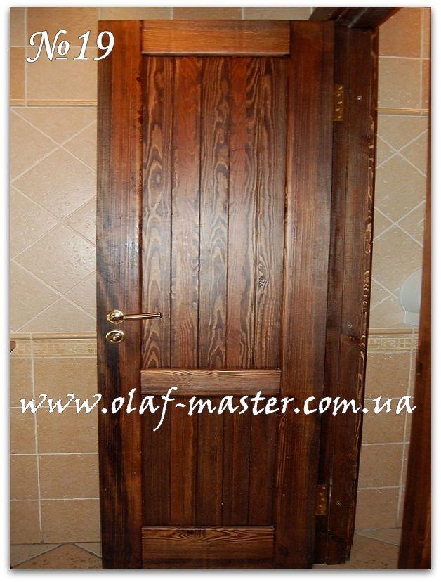 Двери из дерева под старину. Состаренные двери.
