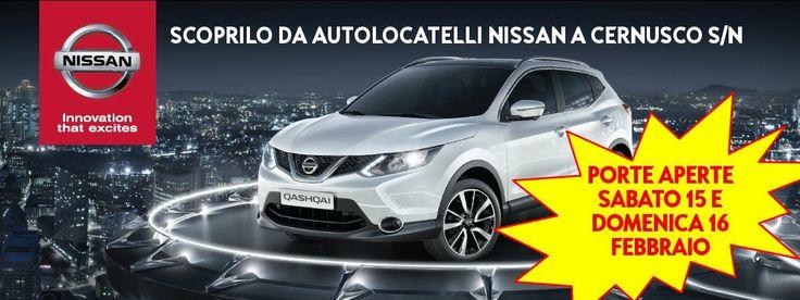 Vi aspettiamo nel concessionario Nissan di Cernusco S/N per scoprire il nuovo Nissan Qashqai