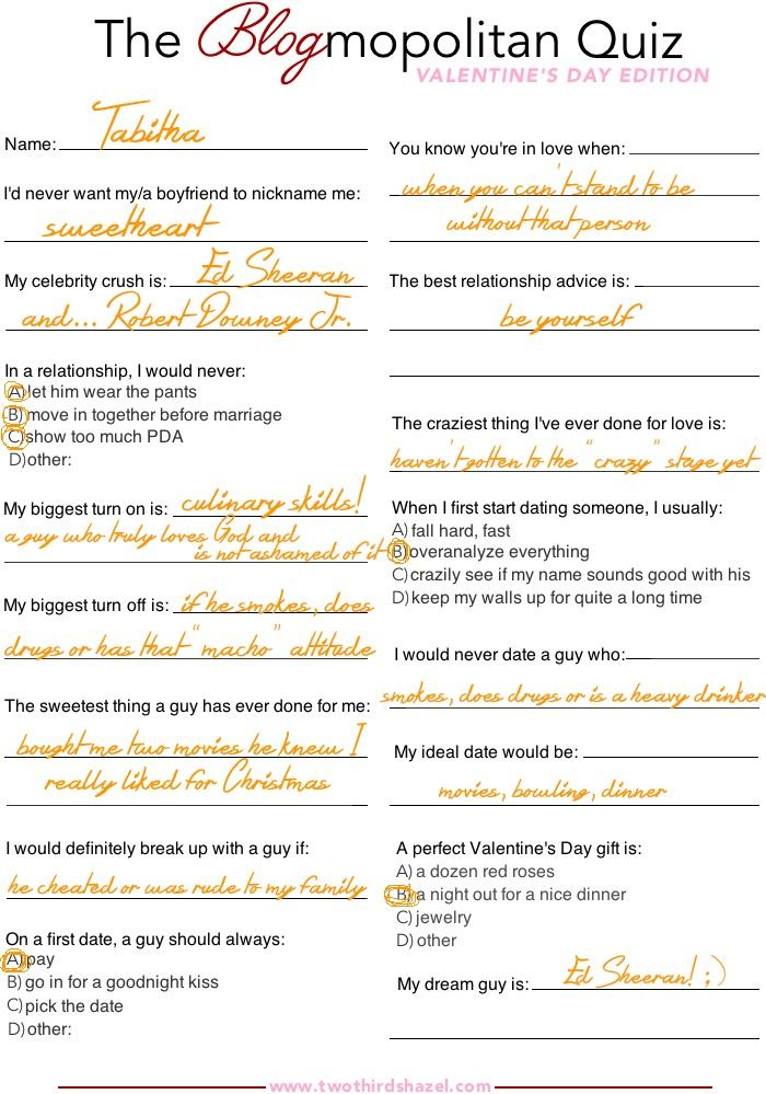 What To Get Him For Valentines Day Quiz   Valentines Day