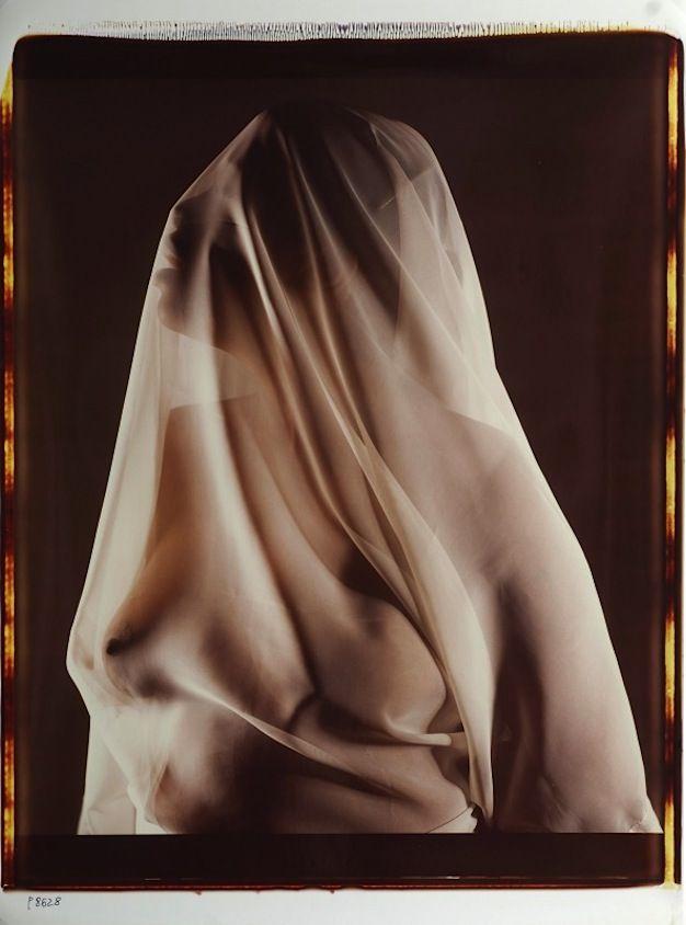 Lucien Clergue (1934-2014) Untitled, Polaroid, New York, 1986