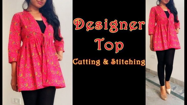 Designer Top Cutting & Stitching | DIY Latest Top Design - YouTube