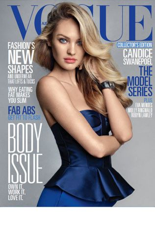First look: Candice Swanepoel for Vogue Australia June 2013.