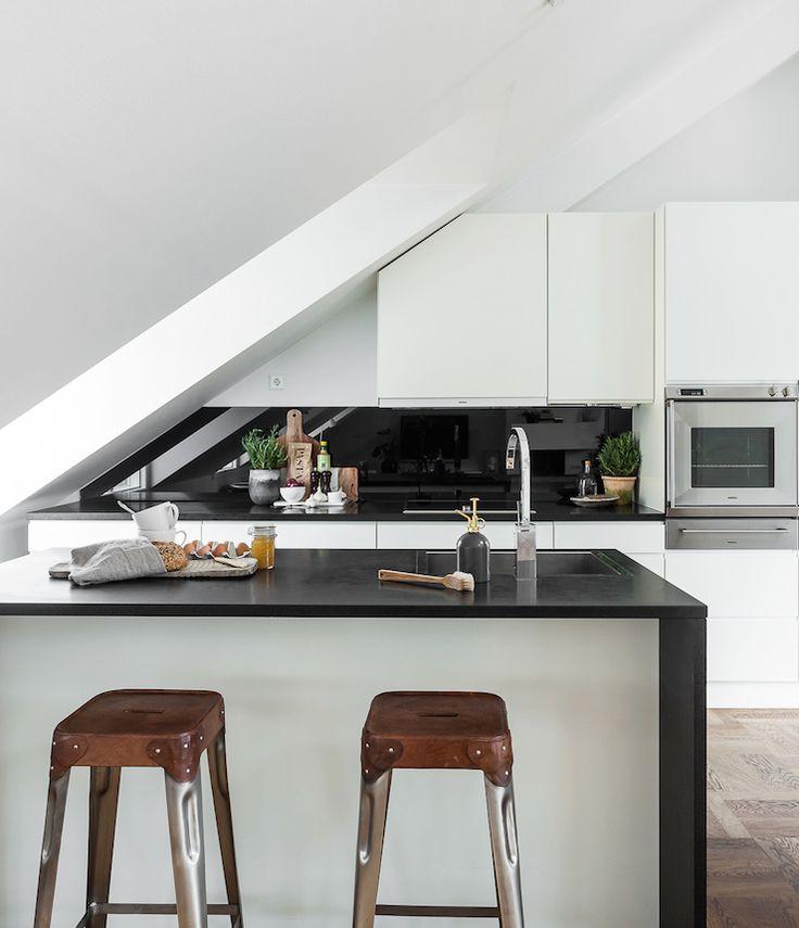 Die besten 25+ Küche dachschräge Ideen auf Pinterest | Küche ...