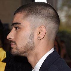Skin Fade with Buzz Cut and Beard