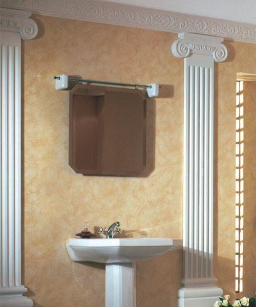 Savannah Crown Molding In The Bathroom Crown Molding Pinterest