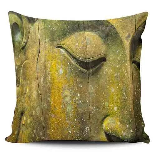 Cojin Decorativo Tayrona Store Cara Buda 01 - $ 43.900