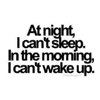 ''In de nacht kan ik niet slapen. In de ochtend kan ik niet wakker worden''  Herkenbaar? Ook vaak moeite met inslapen en opstaan? #slapen #slaapproblemen