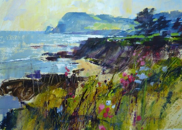 Chris Forsey, Getting to the Point, Prawle, mixed media