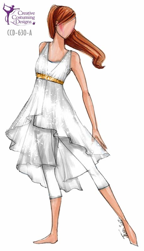 I could wear something like this, you know, even though its a drawing :)