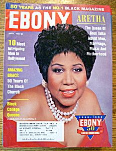 Ebony Magazine Cover 1965 | Ebony Magazine-April 1995-Aretha Franklin (Ebony/Jet) at A Date In ...