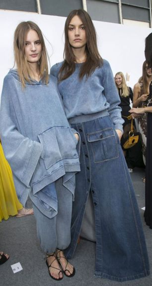 Denim Fashion #chloe #pixiemarket