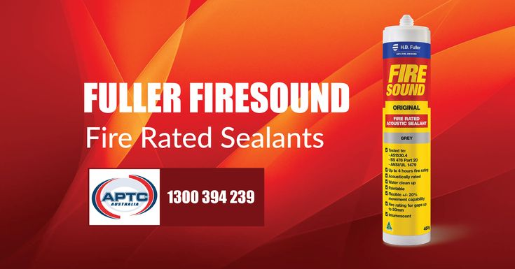 Fuller Firesound Sealant is formulated primarily to perform as a barrier to the incursion of fire through expansion joints and wall penetrations such as pipes or cables. Benefits & Areas of Use Fire rating for gaps up to 50mm. Gaps around cables, metal pipes, conduits and ducts that penetrate walls, floors and ceilings. Learn More!!