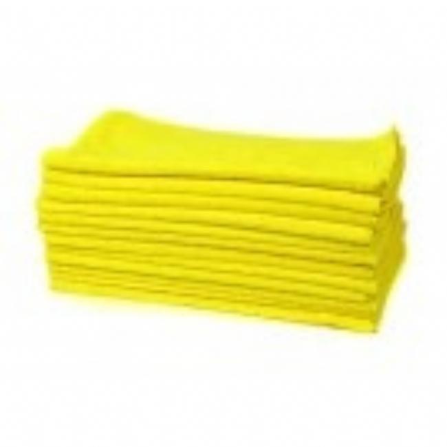 Workhorse Microfiber Towels Yellow Interior (12 stk)   Perfectwheels