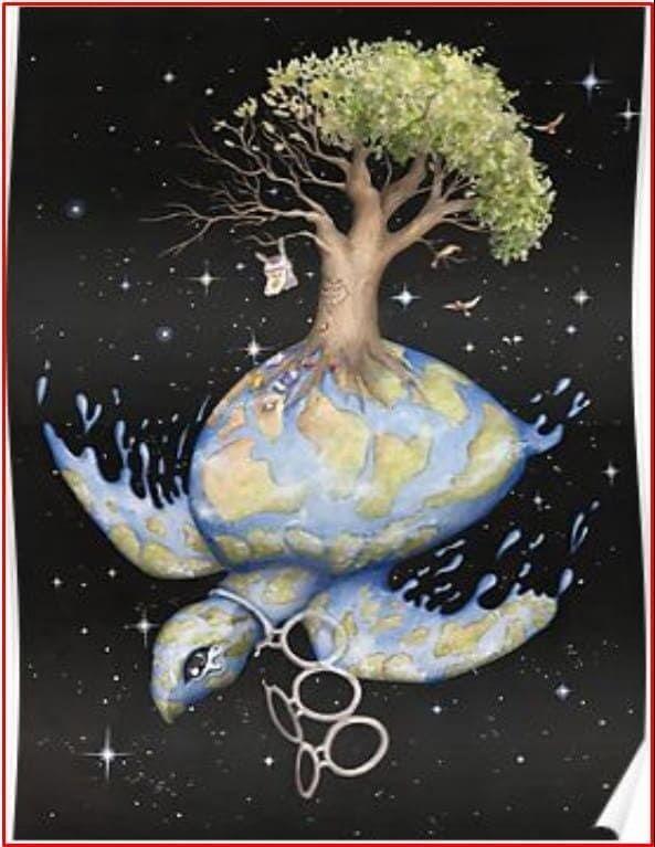 200 Contoh Gambar Poster Dan Slogan Bertema Lingkungan Hidup Seni Abstrak Poster Gambar