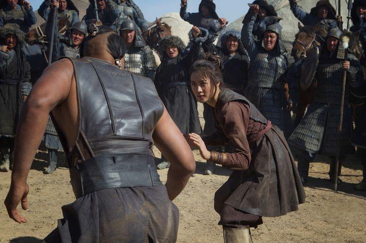 Cena de Claudia Kim interpretando a princesa mongol Khutulun, na série Marco Polo - do blog Sun Tzu e A Arte da Guerra (http://www.suntzulives.com/).
