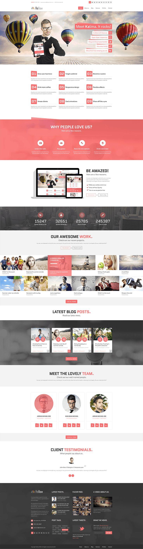 647 best Free psd template webdesign / Website images on Pinterest ...