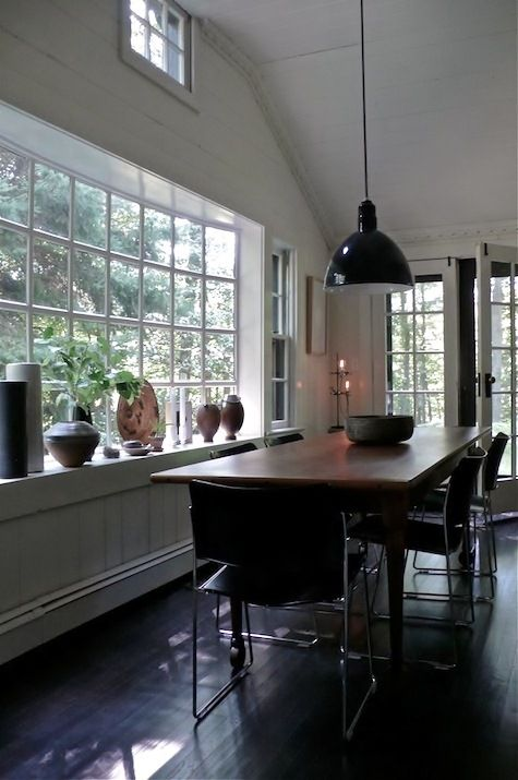 Deep Bowl Barn Pendant Adds Big Wow Factor to Dining Space