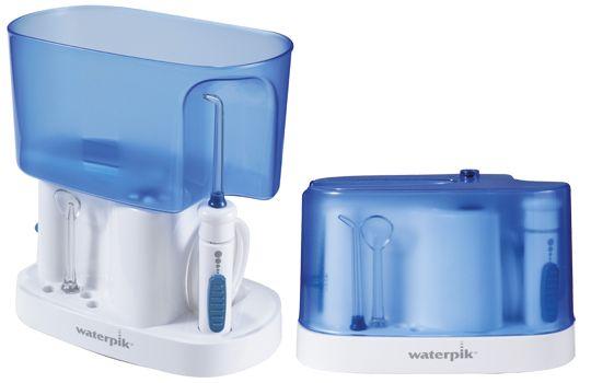 Składany irygator Waterpik WP-70 z największym pojemnikiem na wodę - 1l: http://spadental.pl/wp-300e-waterpik-1142