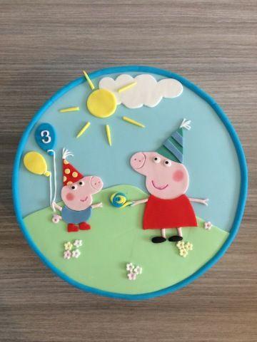 peppa pig taart - Google zoeken