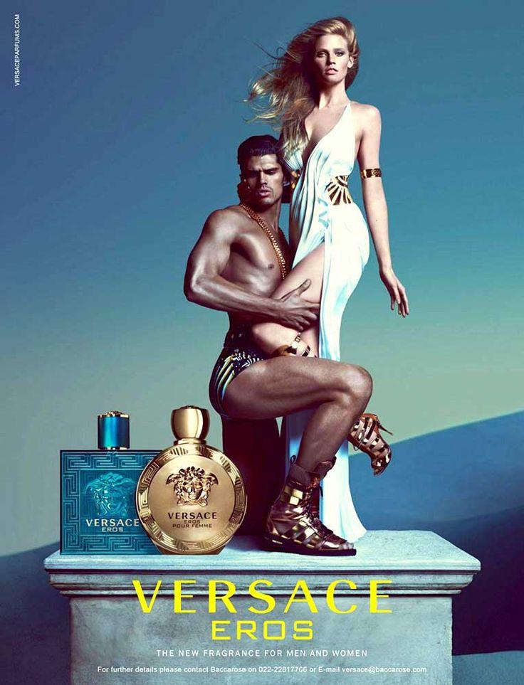 Publicité du parfum Eros(2016) de Gianni Versace