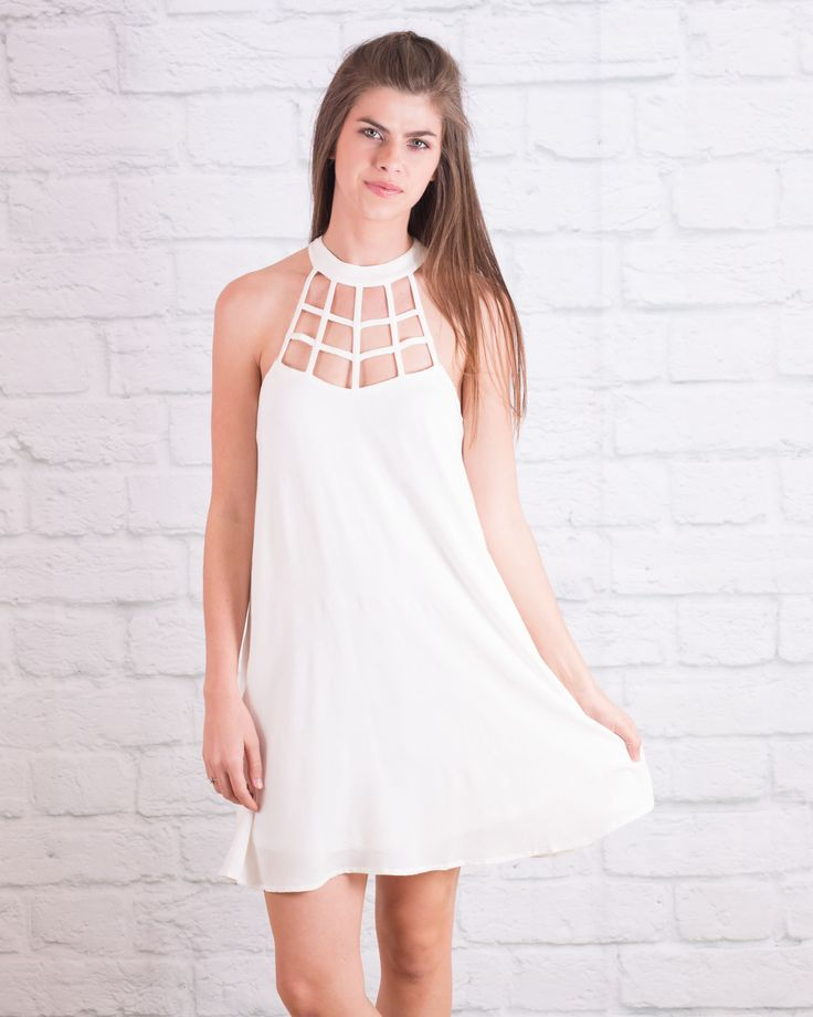 Day To Night Dress - White