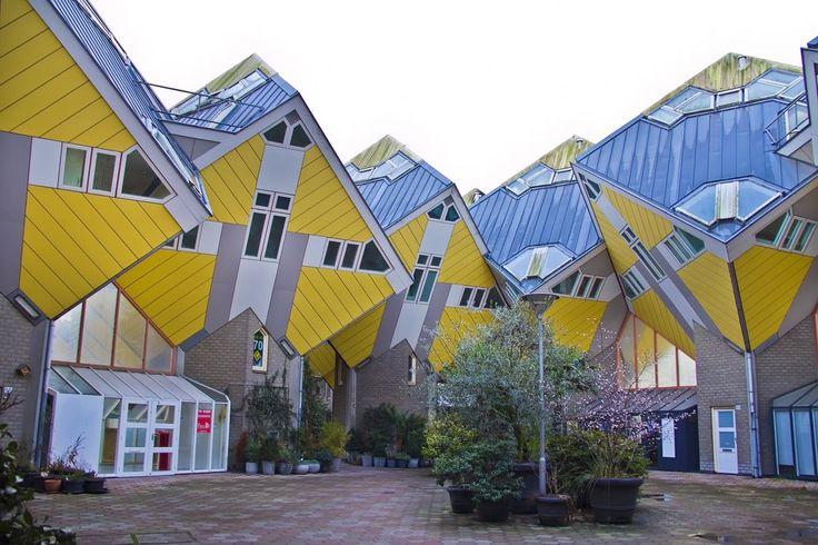 Kübik Evler, Rotterdam, Hollanda