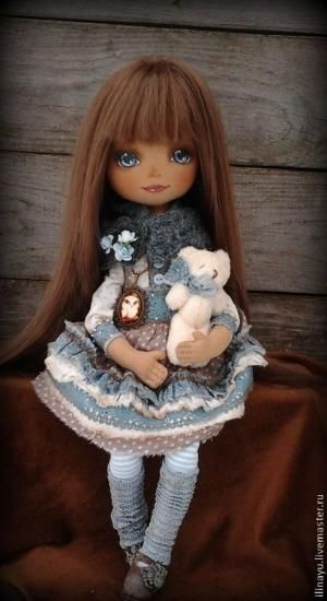 muñecas de colección hechos a mano.  Masters - Feria artesanal Nastyusha.  Hecho a mano.  por lela