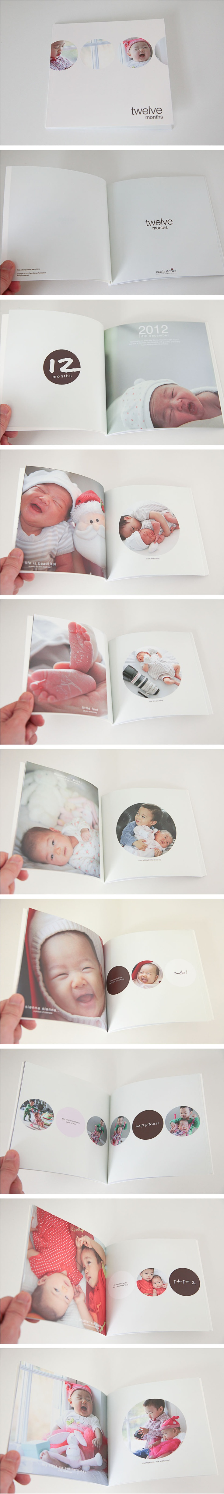 A clean and fun photobook design...
