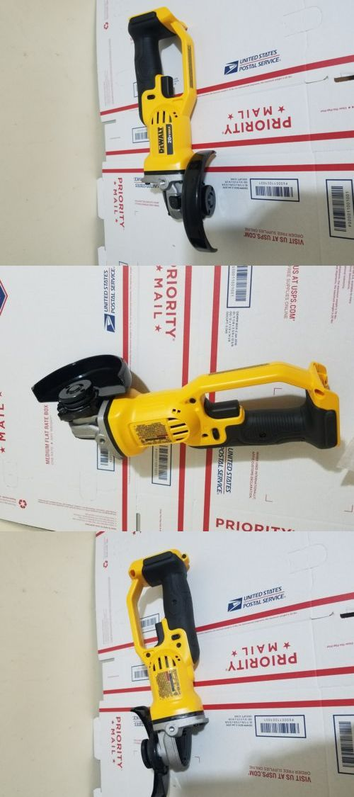 "Tool Only Dewalt DCG412B 20V MAX* Lithium Ion 4-1//2/"" grinder"