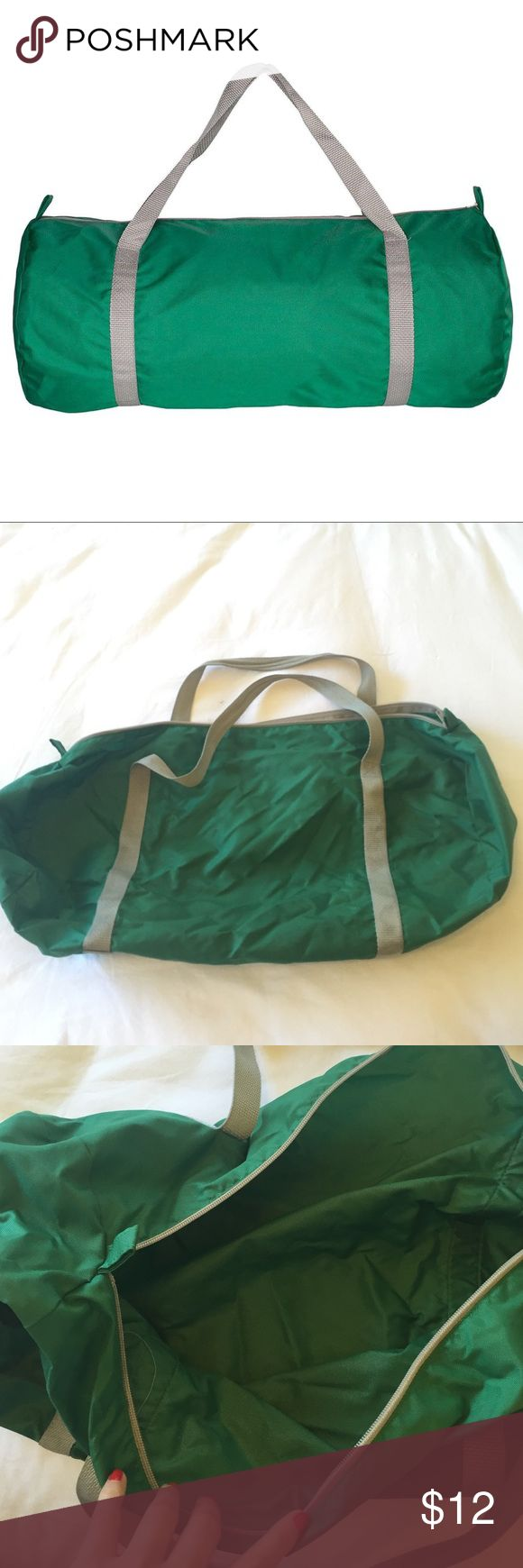 American Apparel Nylon Pack Cloth Gym Bag Used but in great condition. Regular wear and tear. American Apparel Bags Travel Bags
