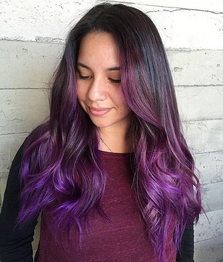 Best 25+ Brown To Purple Ombre Ideas Only On Pinterest