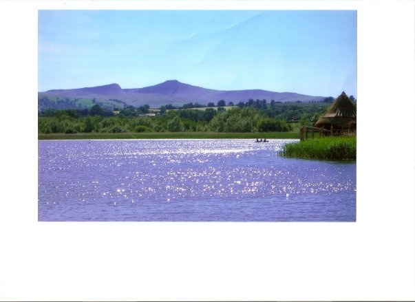 An awesome couple of summer spent by this beautiful lake: Llangors, Wales.