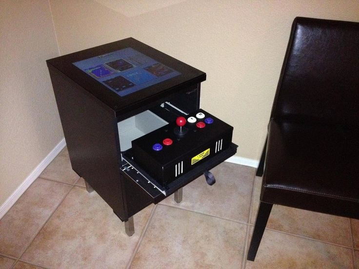 1000 images about arcade cabinet ideas on pinterest for Ikea table d arcade