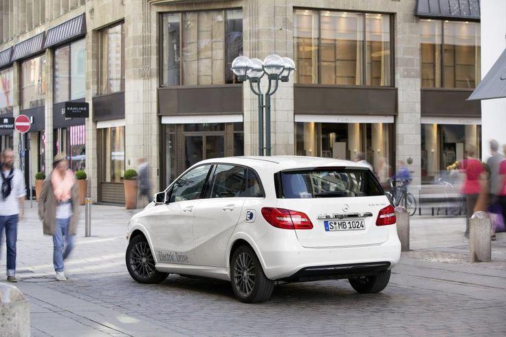 Mercedes Classe B ED : les prix de l'électrique dévoilés