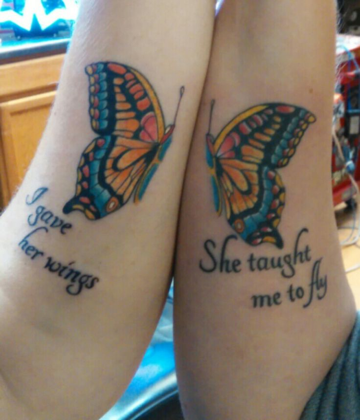 125 Popular Mother Daughter Tattoo Design Ideas: Mother/Daughter Tattoo