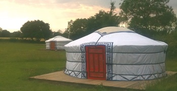 Grey Willow Yurts, Devon