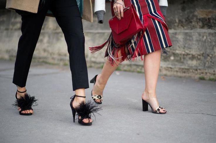 Fringe Skirt Street Style, photo from apairandaspare