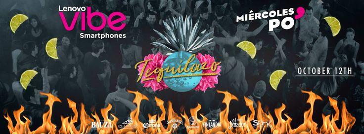 Lenovo Vibe Presenta - Miercoles Po' - Tequilazo  12 oct | 10pm - 4am @ Centro El Cerro  LENOVO VIBE PRESENTA - MIERCOLES PO'  TEQUILAZO LUGAR: EL CERRO BOMBERO NUÑEZ 231  --HORARIOS Y PRECIOS--  FIESTA PARA TODOS LOS ESTUDIANTES UNIVERSITARIOS DE INTERCAMBIO Y SUS AMIG@S  MIERCOLES PO 2016  MUJERES GRATIS TODA LA NOCHE (con Credencial Universit...