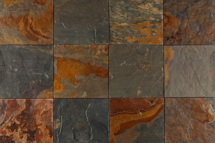 California Gold Slate : Roterra slate tiles gold and