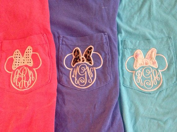 Hey, I found this really awesome Etsy listing at https://www.etsy.com/listing/190064059/womens-monogram-disney-comfort-colors