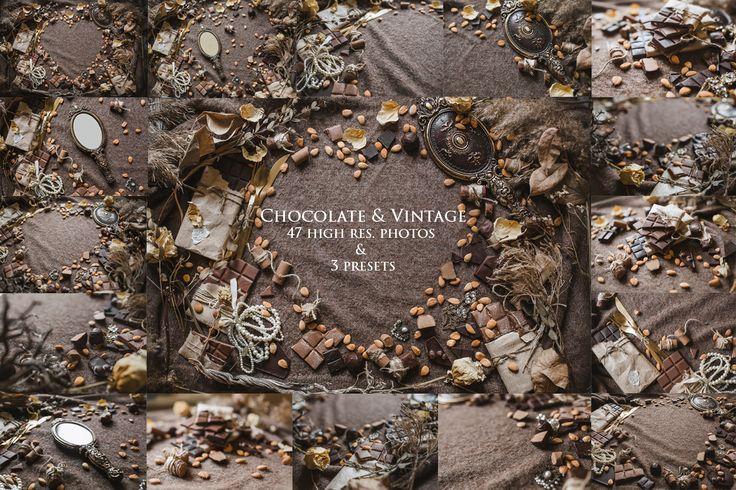 Chocolate & Vintage-photos & Presets by Krisp_Krisp on @creativemarket