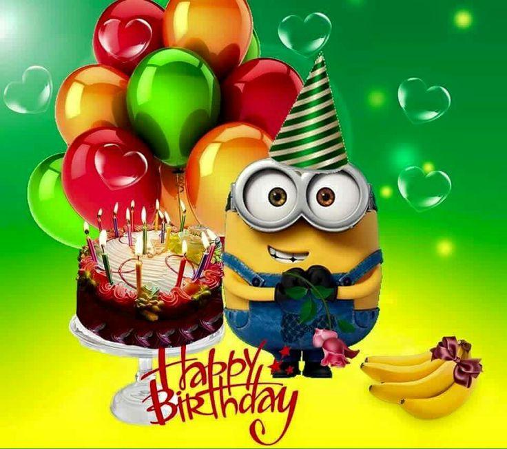 Minion greetings   Happy birthday minions, Minion birthday ...